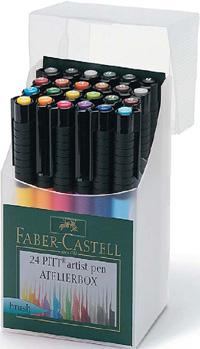 Ritpennset Faber-Castell Pitt Artist Manga 6 pennor, Mangaka (5F)