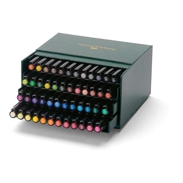 Ritpenna Faber-Castell PITT Artist x 48 pennor  Ateljelåda