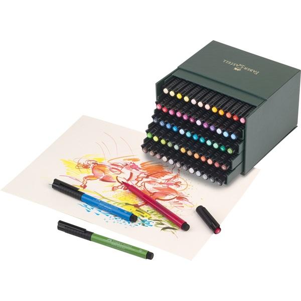 Ritpenna Faber-Castell PITT Artist x 60 pennor  Ateljelåda
