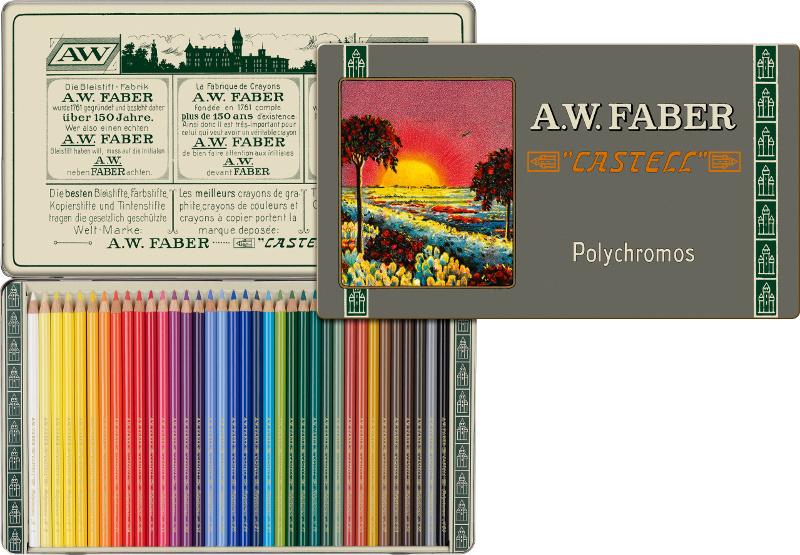 Färgpennset Faber-Castell Polychromos 36 set 111th version