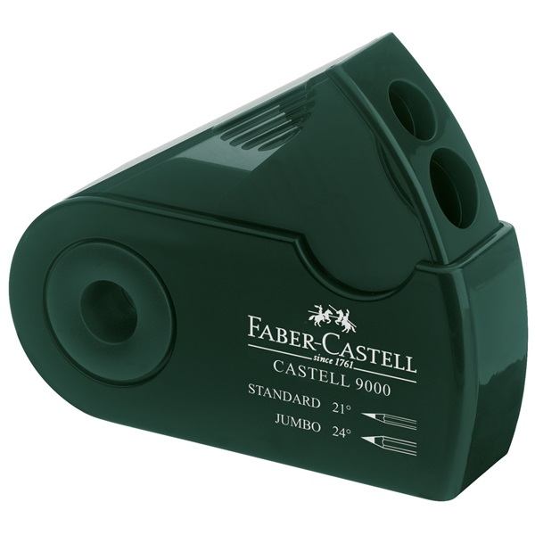 Pennvässare Faber-Castell 9000 Double sharpener box (12F)