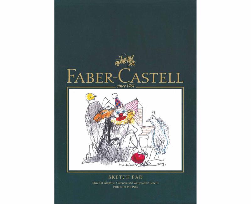 Ritblock Faber-Castell A4 Sketch Pad 160gr 40 ark Limmat (5F)