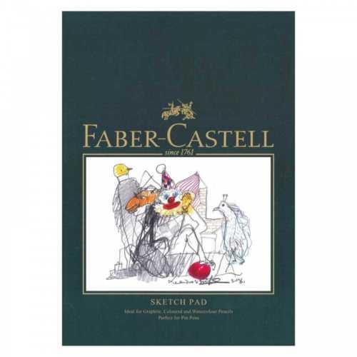 Ritblock Faber-Castell A5 Sketch Pad 160gr 40 ark Limmat (5F)
