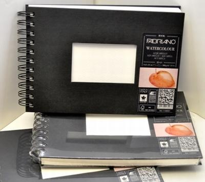 Akvarellbok Fabriano 300 g GF 14,8x21 A5 25ark (5F) Utgår