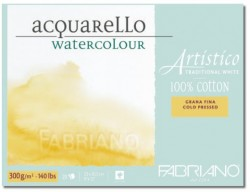 Akvarellblock Fabriano Artistico 300 g GS 45,5x61 10ark (3F) Utgår