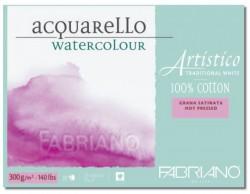 Akvarellblock Fabriano Artistico 300 g GF 12,5x18 25ark (6F)