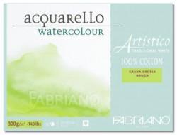 Akvarellblock Fabriano Artistico 300 g GG 12,5x18 25ark (6F) Utgår