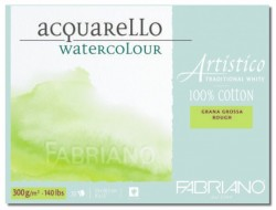 Akvarellblock Fabriano Artistico 300 g GG 30,5x45,5 20ark (6F)