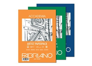 Ritpapper Fabriano Accademia 200g A4 100-p