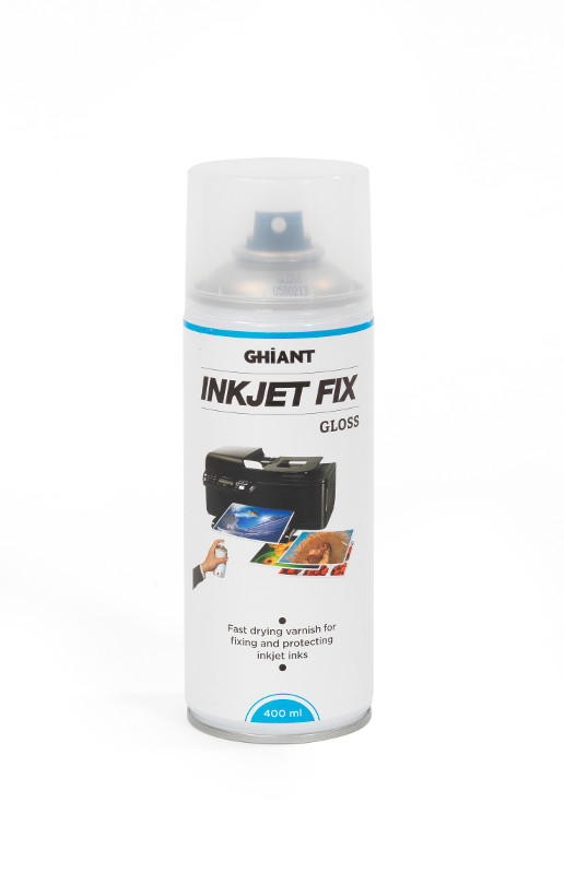 InkJetSpray Ghiant  Fixativ Blank. 400ml (12F)