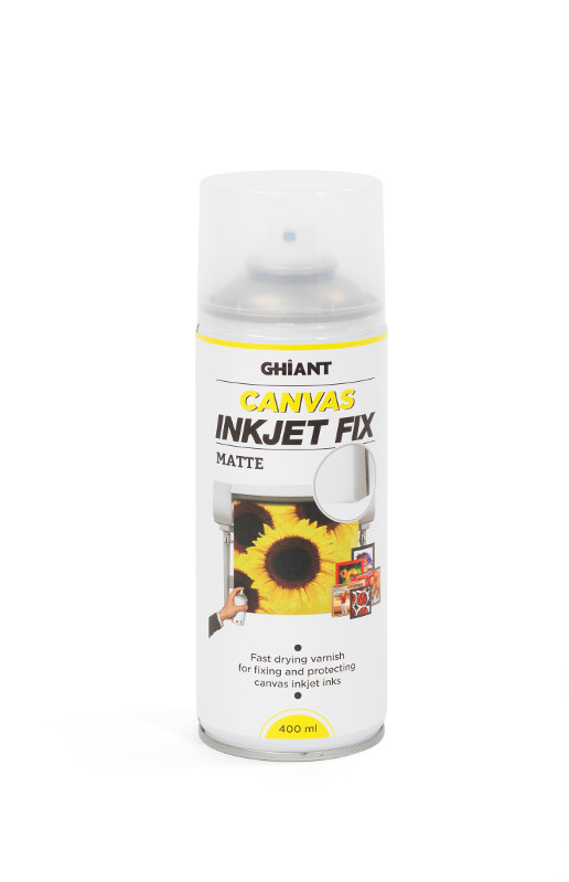 InkJetSpray Ghiant Canvas Fix. Matt 400ml (12F)
