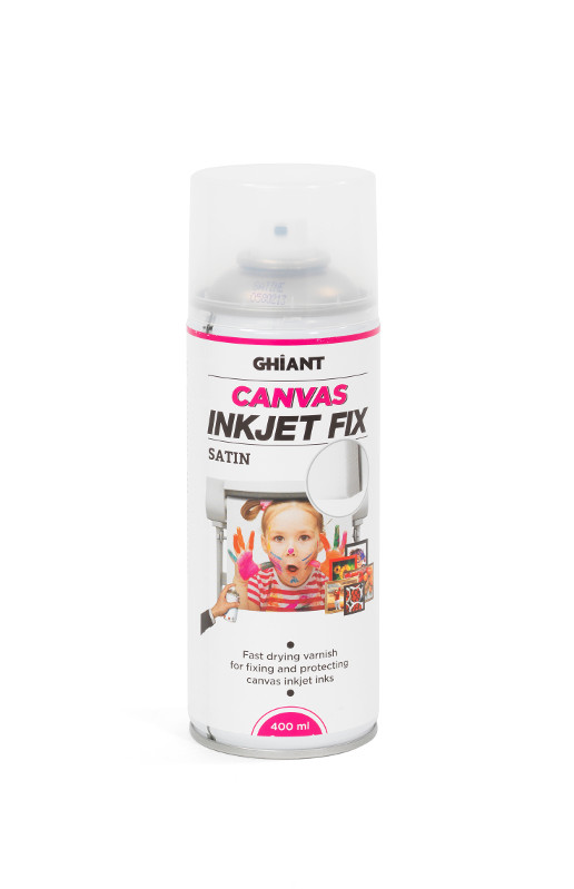 InkJetSpray Ghiant Canvas Fix. Satin 400ml (12F)