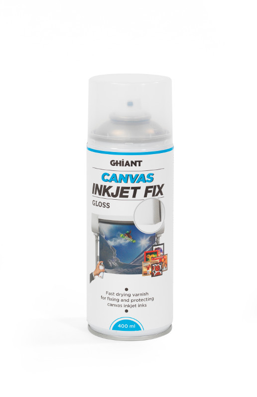 InkJetSpray Ghiant Canvas Fix. Gloss 400ml (12F)