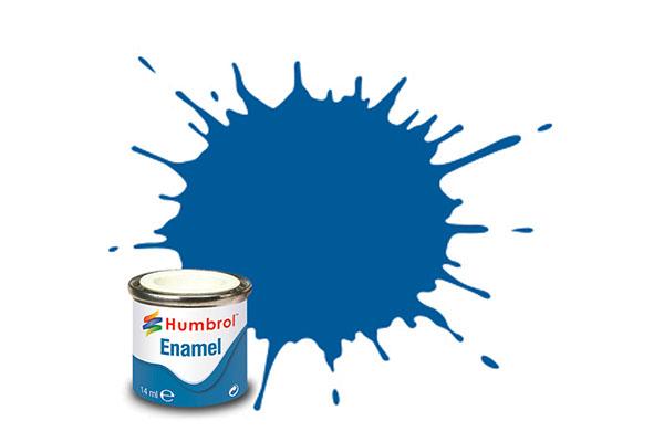Hobbyfärg Humbrol Enamel Gloss 14ml french blue  14 (6F)
