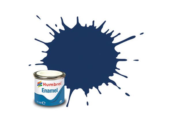 Hobbyfärg Humbrol Enamel Gloss 14ml midnight blue  15 (6F)