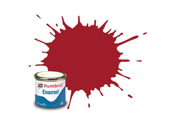 Hobbyfärg Humbrol Enamel Gloss 14ml crimson  20 (6F)