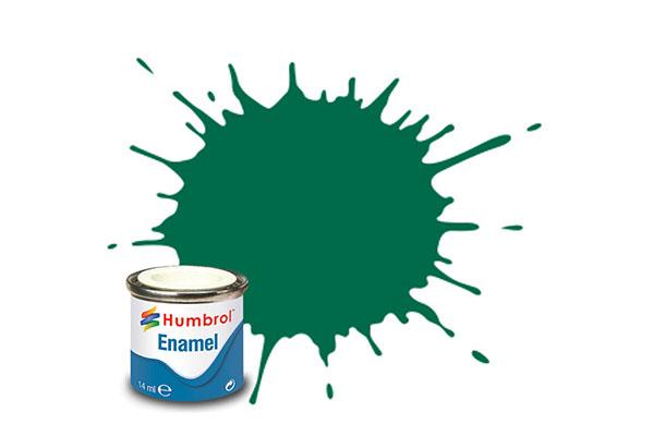 Hobbyfärg Humbrol Enamel Matt  14ml dark green  30 (6F)
