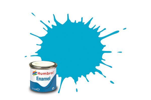 Hobbyfärg Humbrol Enamel Gloss 14ml sea blue  47 (6F)