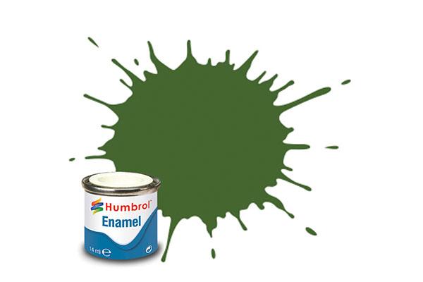 Hobbyfärg Humbrol Enamel Matt  14ml deck green  88 (6F)