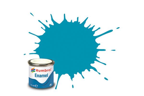 Hobbyfärg Humbrol Enamel Matt  14ml mid blue  89 (6F)