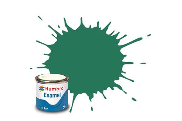 Hobbyfärg Humbrol Enamel Matt  14ml mid green  101 (6F)