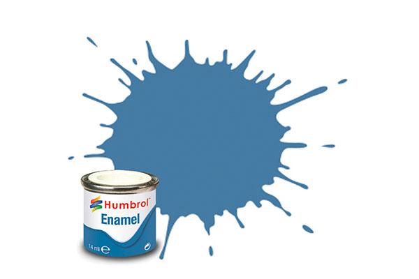 Hobbyfärg Humbrol Enamel Matt  14ml wwi blue  109 (6F)