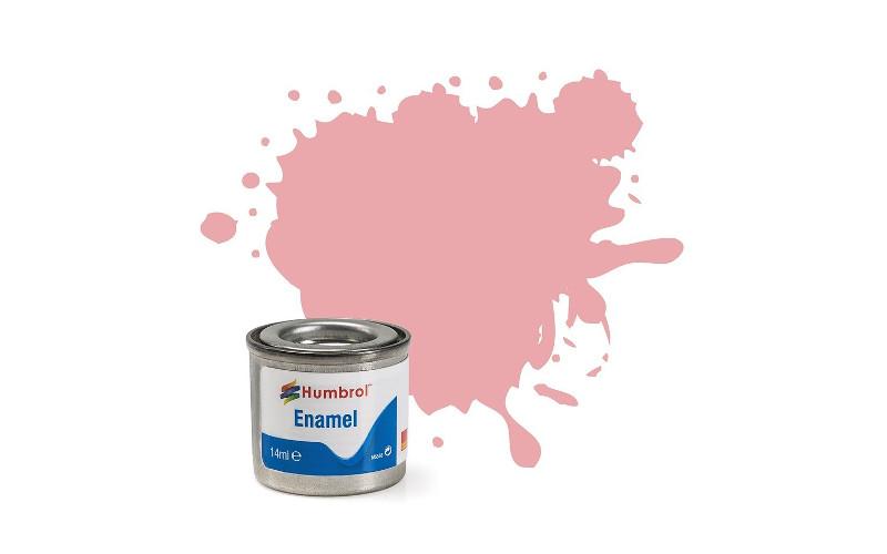 Hobbyfärg Humbrol Enamel Matt  14ml pastel pink  57 (6F)