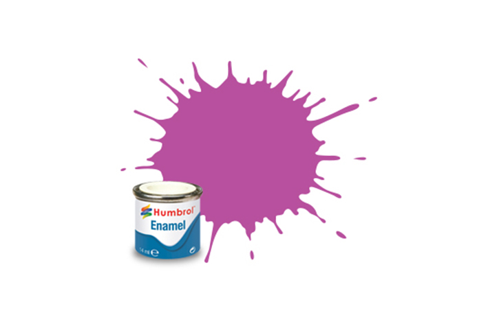 Hobbyfärg Humbrol Enamel Matt  14ml magenta  58 (6F)