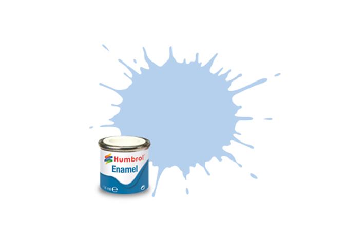 Hobbyfärg Humbrol Enamel Matt  14ml pastel blue  44 (6F)