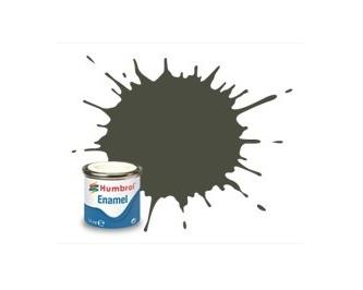 Hobbyfärg Humbrol Enamel Matt  14ml dunkelgrün RLM 83  253 (6F)