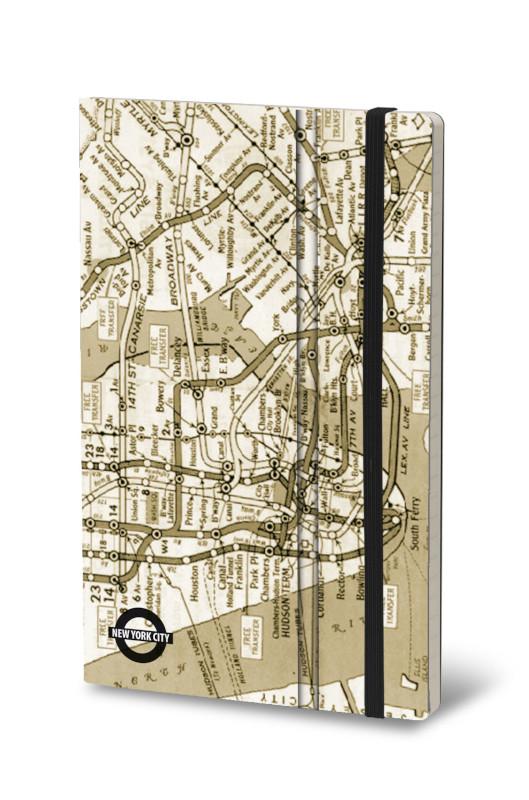 Notebook Underground NYC Vintage (4F)