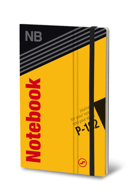 Notebook VHS gul (4F)