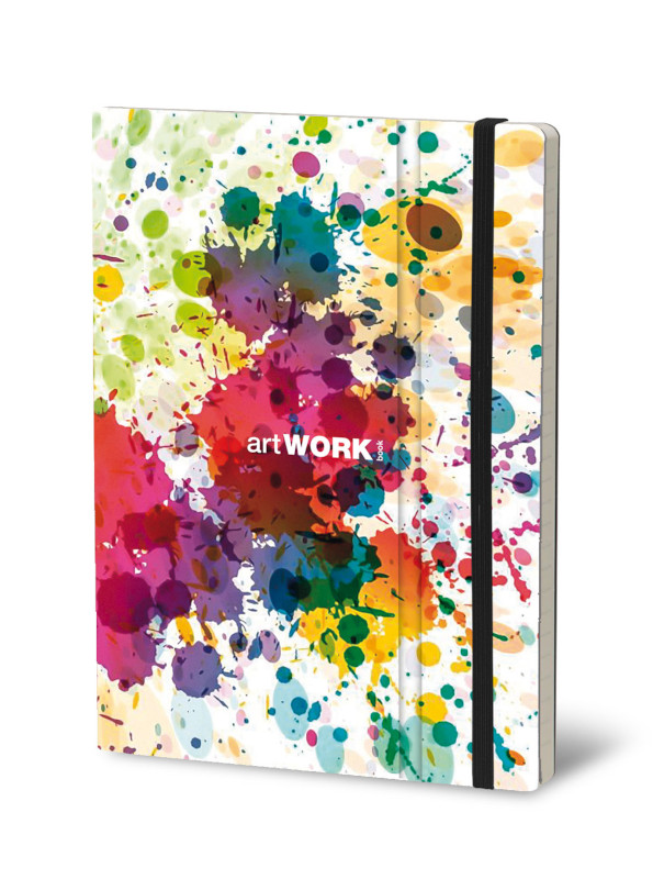 Notebook Artwork Color Splash (4F)