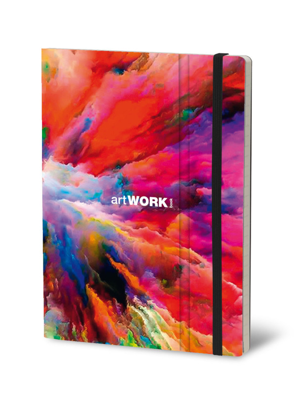 Notebook Artwork Cloud Splash (4F)