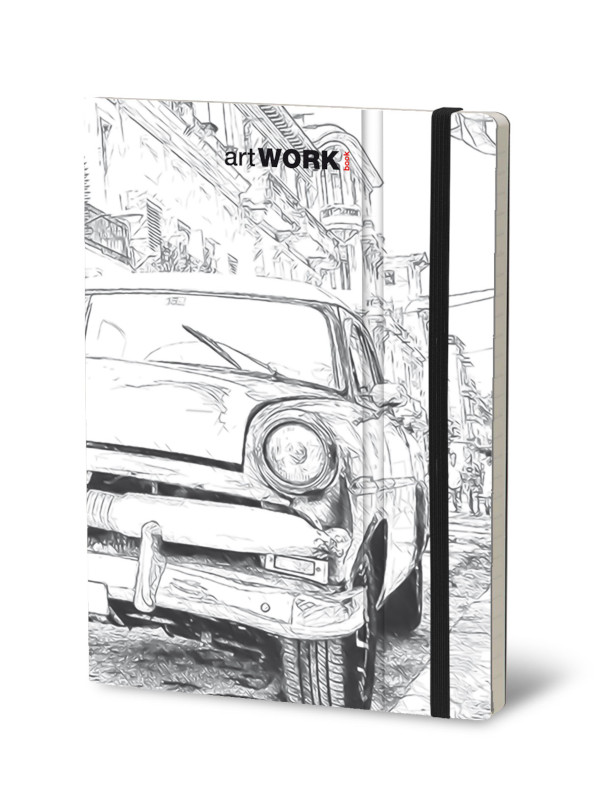 Notebook Artwork Havana (4F)