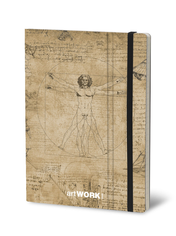 Notebook Artwork Leonardo (4F)