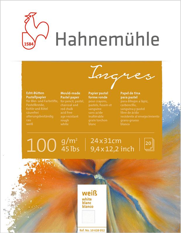 Pastellblock Hahnemühle Ingres 100g 24x31cm 20ark vita ark