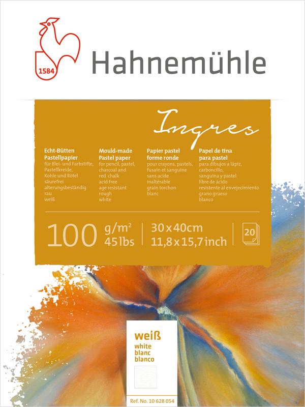 Pastellblock Hahnemühle Ingres 100g 30x40cm 20ark vita ark