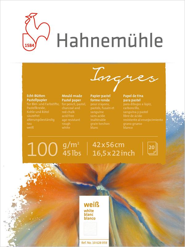 Pastellblock Hahnemühle Ingres 100g 42x56cm 20ark vita ark