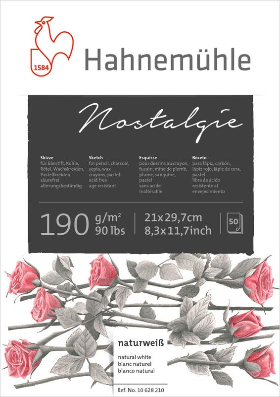 Ritblock Hahnemühle Sketch Nostalgie 190g A5 50ark