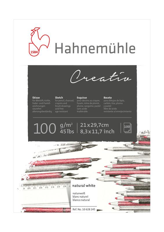 Skissblock Hahnemühle Sketch Creativ 100g A4 100ark