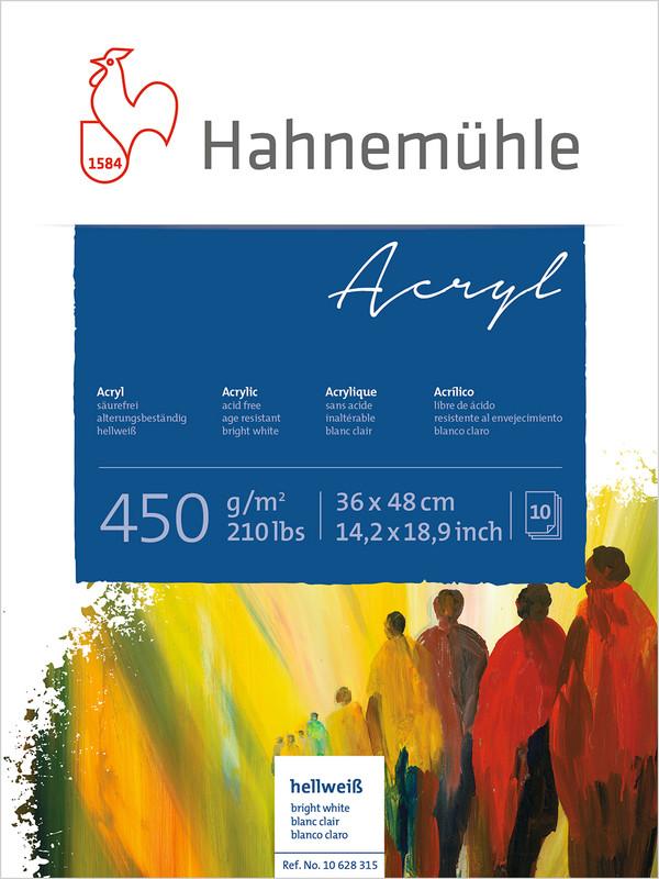 Akrylblock Hahnemühle 450g 36x48cm 10ark