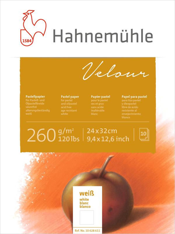Pastellblock Hahnemühle Velour Vita 260g 24x32cm 10ark