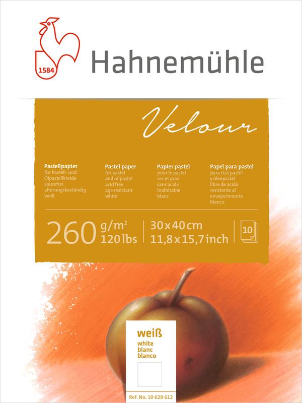 Pastellblock Hahnemühle Velour Vita 260g 30x40cm 10ark