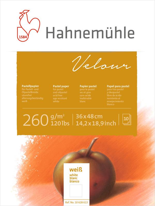 Pastellblock Hahnemühle Velour Vita 260g 36x48cm 10ark