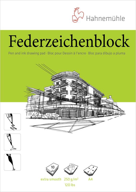 Ritblock Hahnemühle PenPad 250g A4 10ark