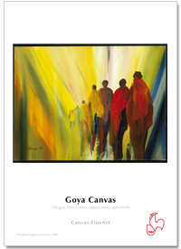 "InkJet Hahnemühle Goya Canvas 340g 24""x12m rulle"