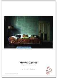 "InkJet Hahnemühle Monet Canvas 410g 17""x12m rulle #"