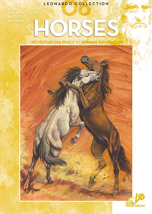 Litteratur Leonardo Bok - nr 6 Horses