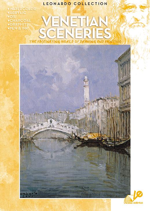 Litteratur Leonardo Bok - nr 14 Venetian Sceneries